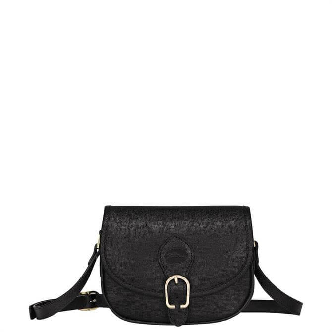 Longchamp 1980 Black Crossbody Bag XS