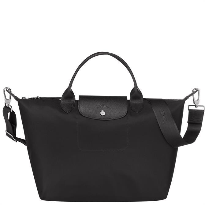 Longchamp Le Pliage Néo Black Top Handle Bag