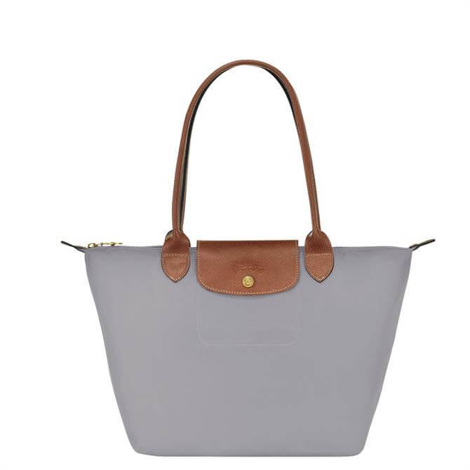 Longchamp Le Pliage Original Grey Shoulder Bag S