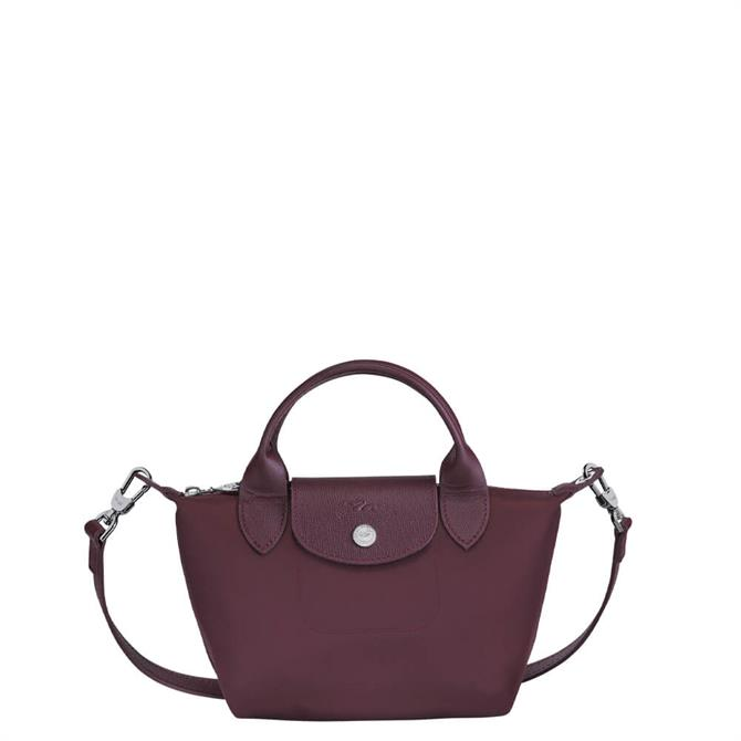 Longchamp Le Pliage Néo Purple Top Handle Bag XS