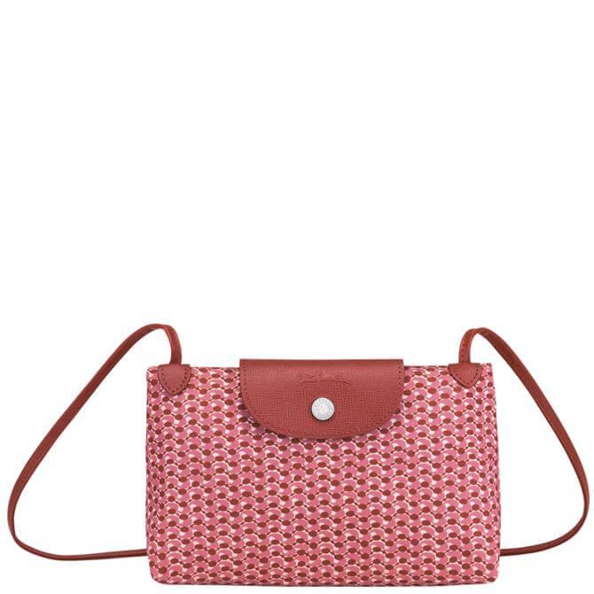 Longchamp Le Pliage Microknit Crossbody Bag