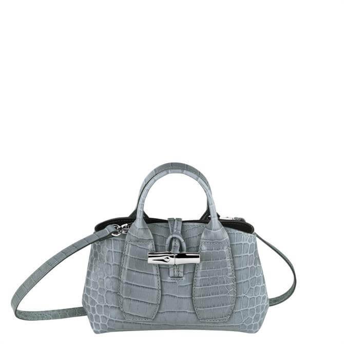 Longchamp Roseau Sage Top Handle Bag XS