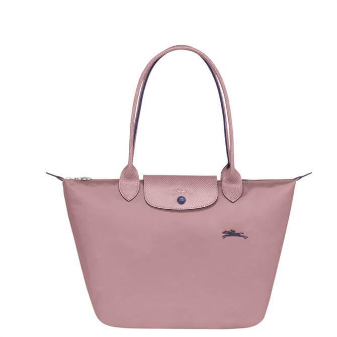 Longchamp Le Pliage Club Antique Pink Shoulder Bag S