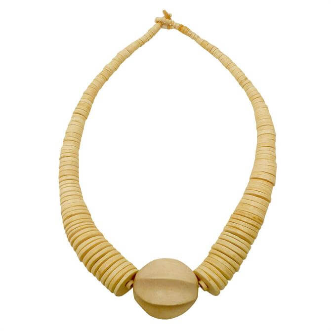 Lotusfeet Graduated Round Pendant Necklace