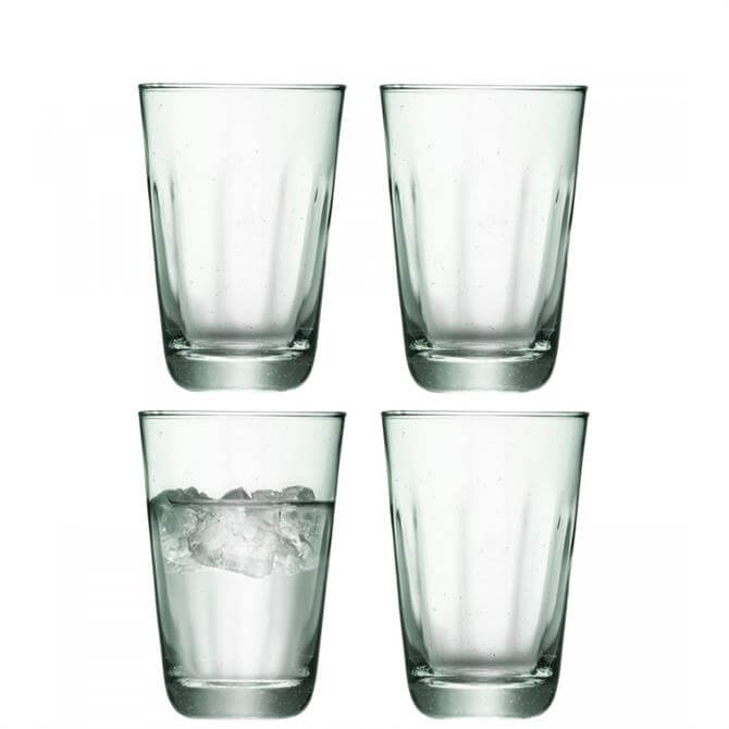 LSA Mia Set of 4 Recycled Highball Glasses