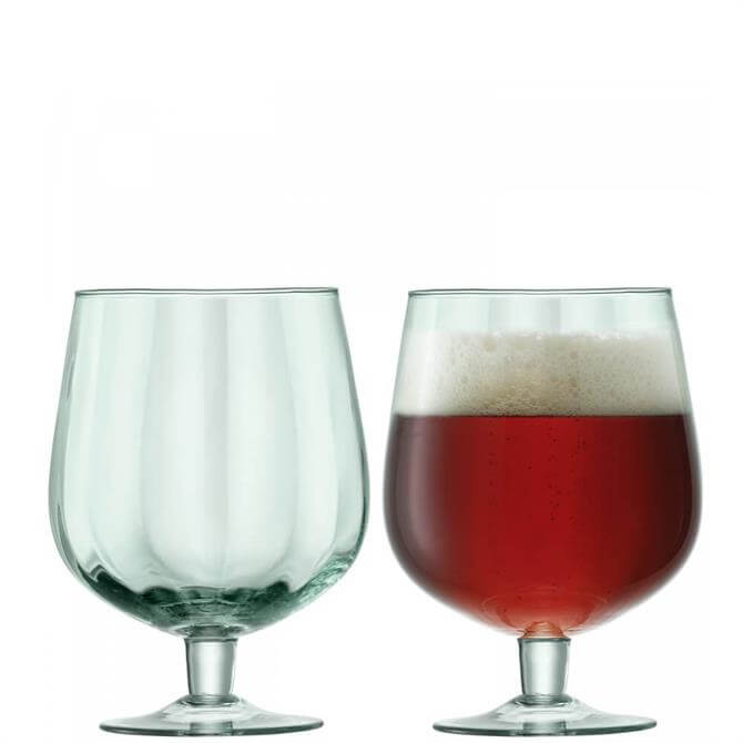 LSA Mia Set of 2 Recycled Glass Craft Beer Glasses