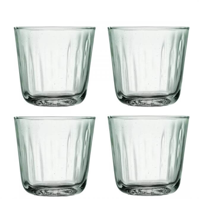 LSA Mia Set of 4 Recycled Glass Tumblers