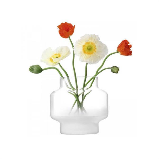 LSA Mist Part Frost Vase 19cm