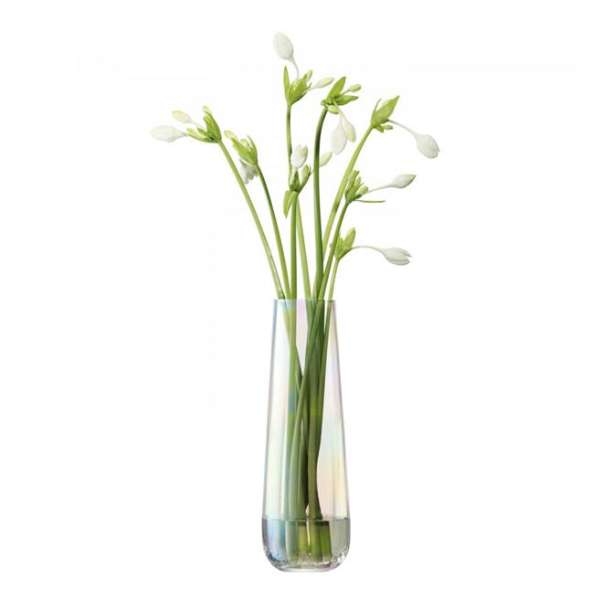 LSA Pearl Vase 36cm Mother Of Pearl