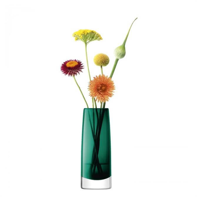 LSA Stems Bud Vase 16cm Marine Green