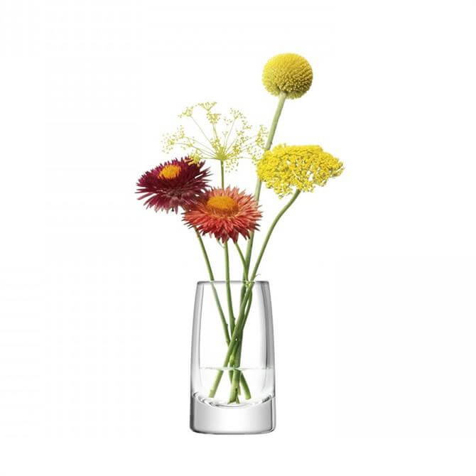 LSA Stems Mini Vase 10cm Clear
