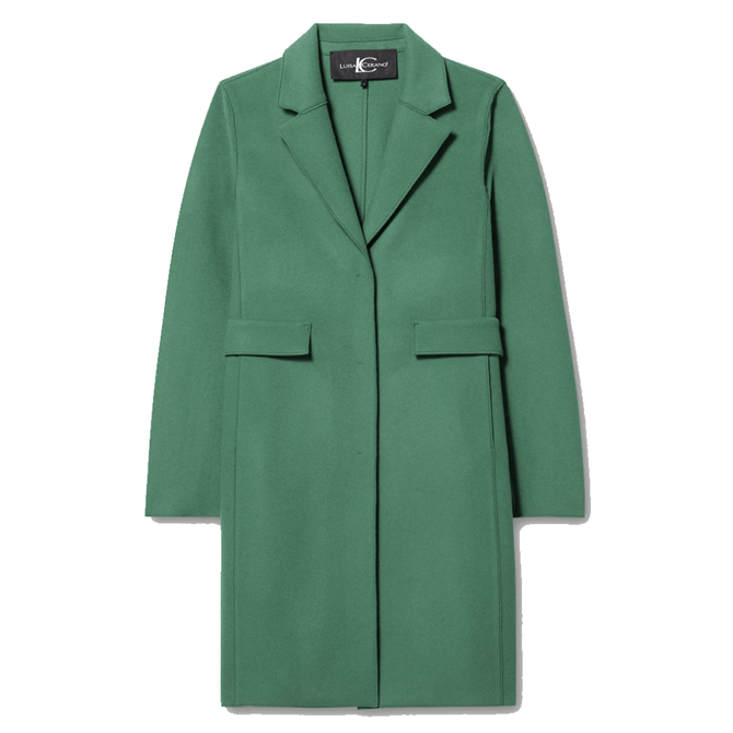 Luisa Cerano Double-Faced Wool Blend Coat