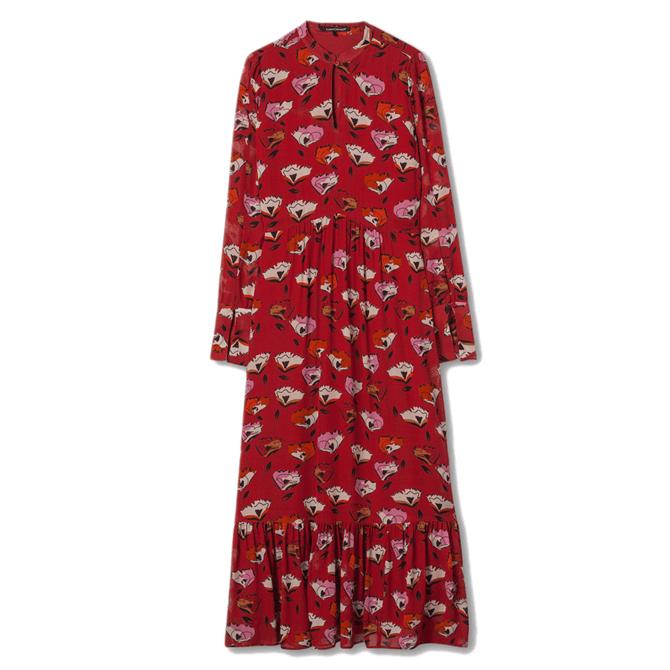 Luisa Cerano Prairie Floral Print Dress