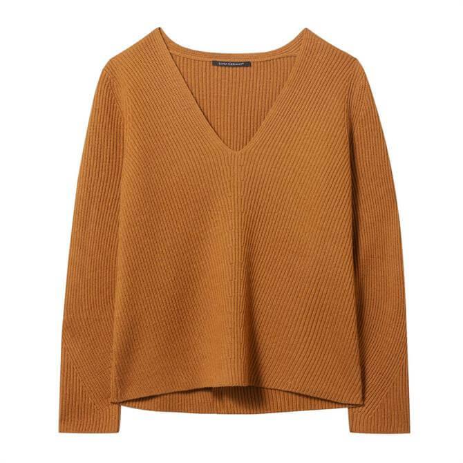 Luisa Cerano Rib Knit Wool-Blend Sweater