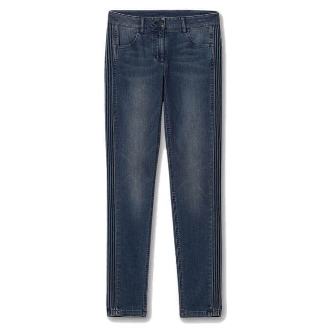 Luisa Cerano Side Stitched Skinny Jeans