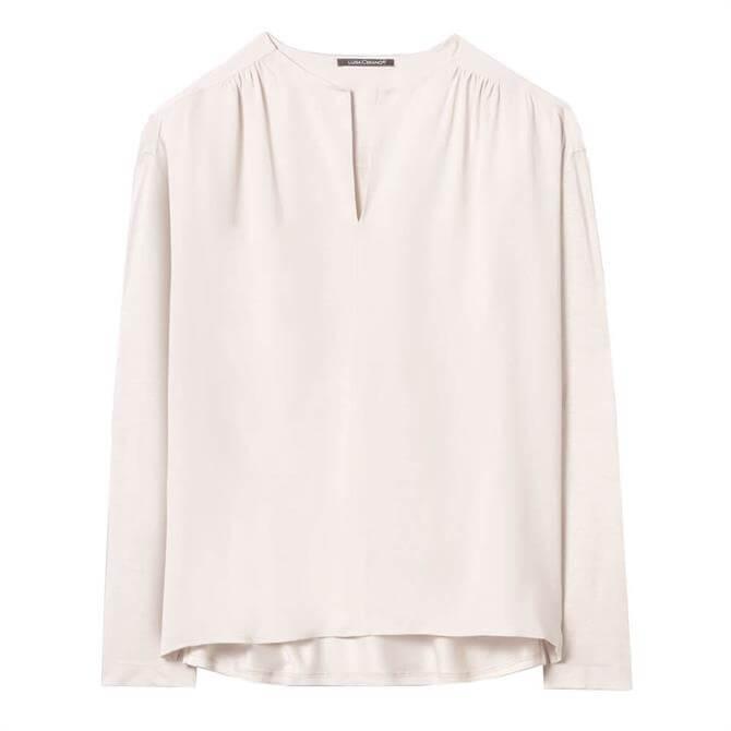 Luisa Cerano Blended Silk Flowy Shirt