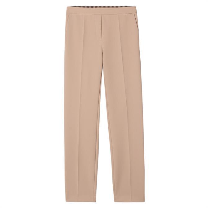 Luisa Cerano Slim Fit Crepe Trousers