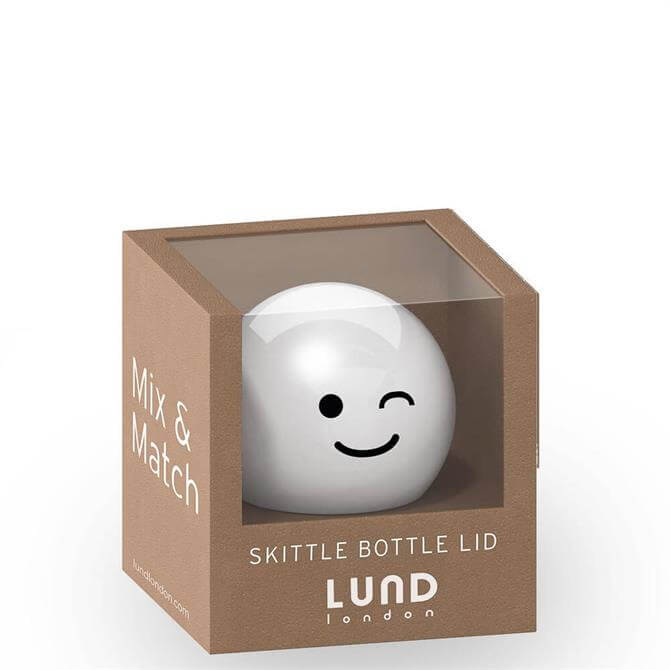 Lund London Skittle White Wink Bottle Lid