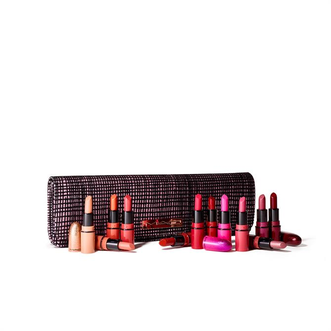 MAC Taste Of Stardom Mini Lipstick Kit- 12 Mini Lipsticks