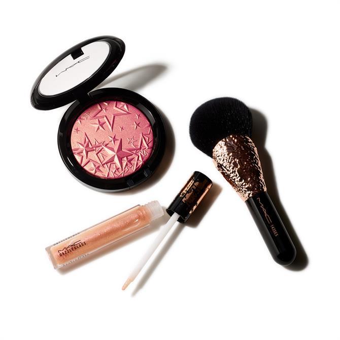 MAC Sprinkle of Shine Kit- Face & Lip Kit