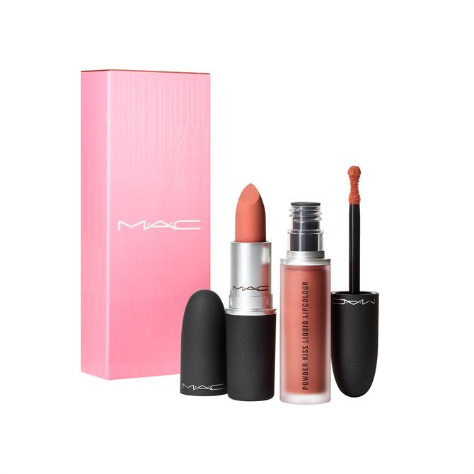 MAC Mother's Day Lip Kits- Powder Kiss Lip Kit