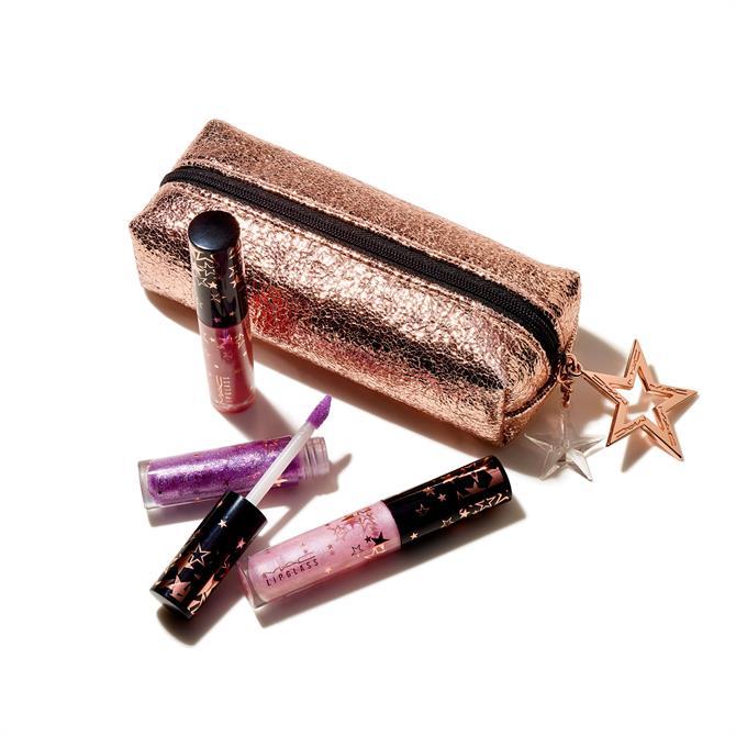 MAC Lucky Stars Lip Gloss Kit- x3 Mini Lipglass