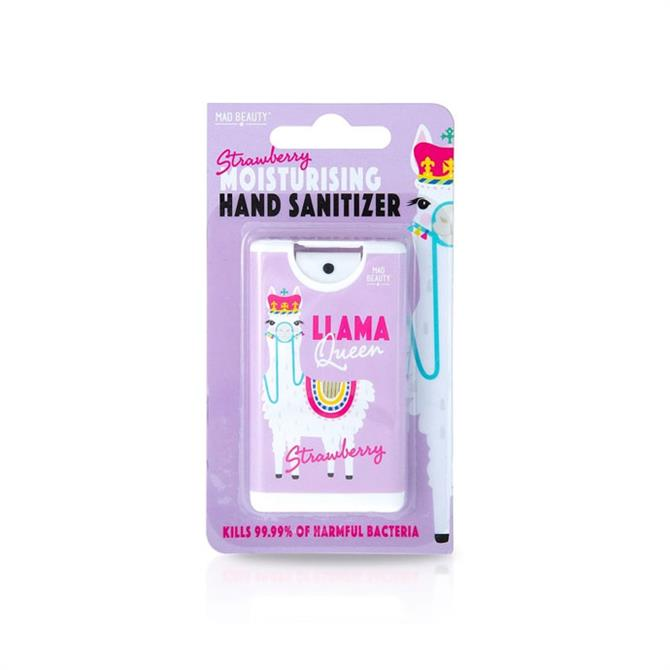 Mad Beauty Llama Queen Hand Sanitisers
