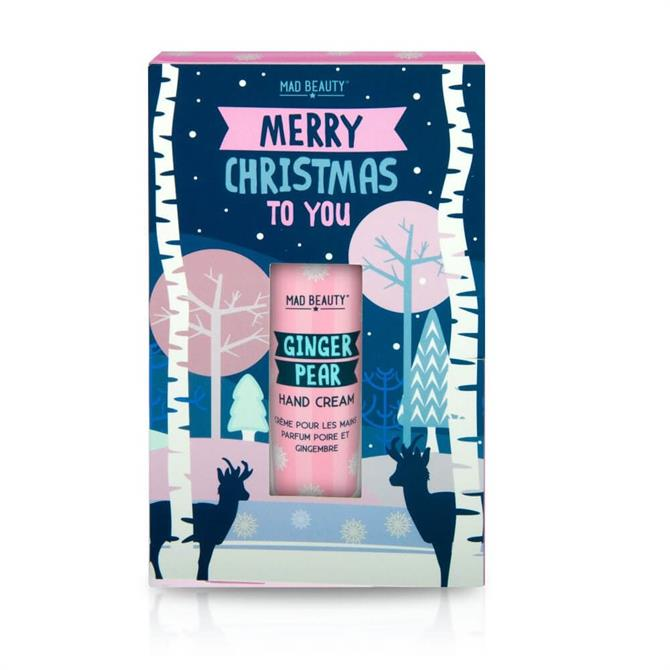 Mad Beauty Merry Christmas To You Ginger Pear Hand Cream 30ml Gift