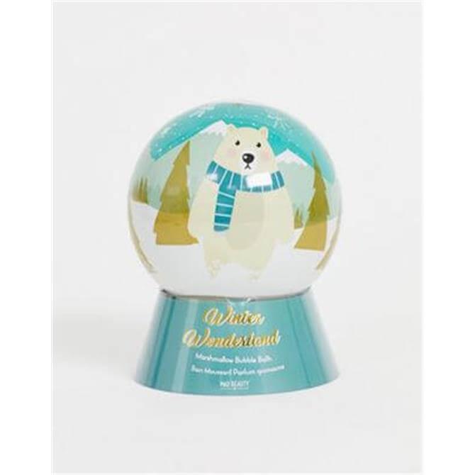 Mad Beauty Winter Wonderland Bear Marshmallow Bubble Bath