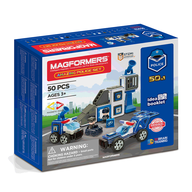 Magformers Amazing Police Set