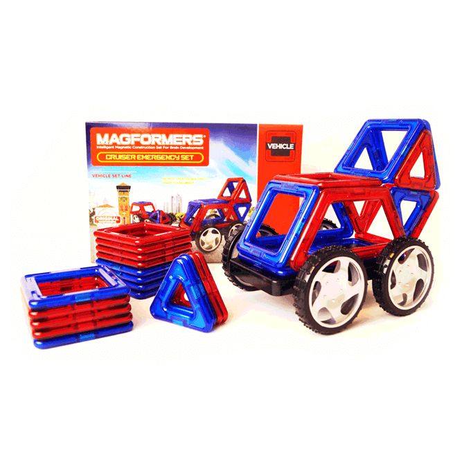 Magformers 31 Piece Emergency Set