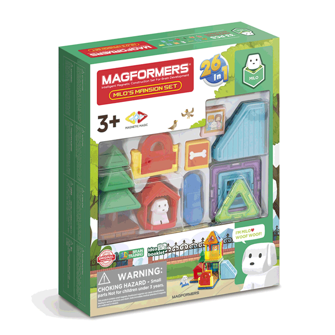 Magformers Milo's Mansion Set