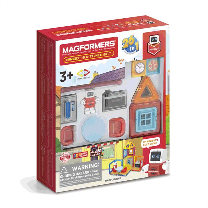 Magformers Minibots Kitchen Set