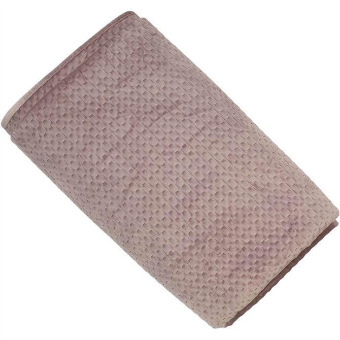 Malini Henley Blush Velvet Bedspread