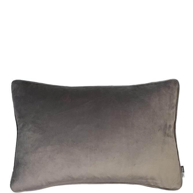 Malini Luxe Rectangle Grey Cushion