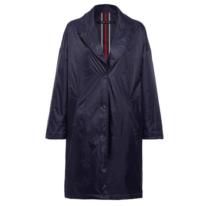 Marc Aurel Buttoned Front Rain Coat