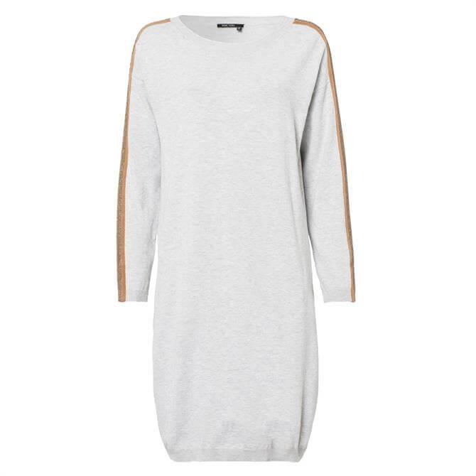 Marc Aurel Embellished Sleeve Knitted Dress