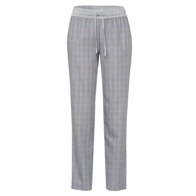 Marc Aurel Glen Check Jogging Trousers