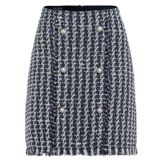 Marc Aurel Textured Skirt
