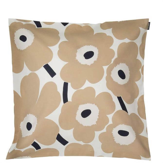 Marimekko Pieni Unikko Beige Cushion Cover