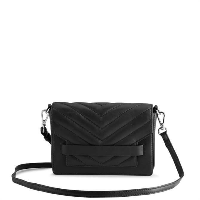 Markberg Vanya Black Puffer Cross Body Bag