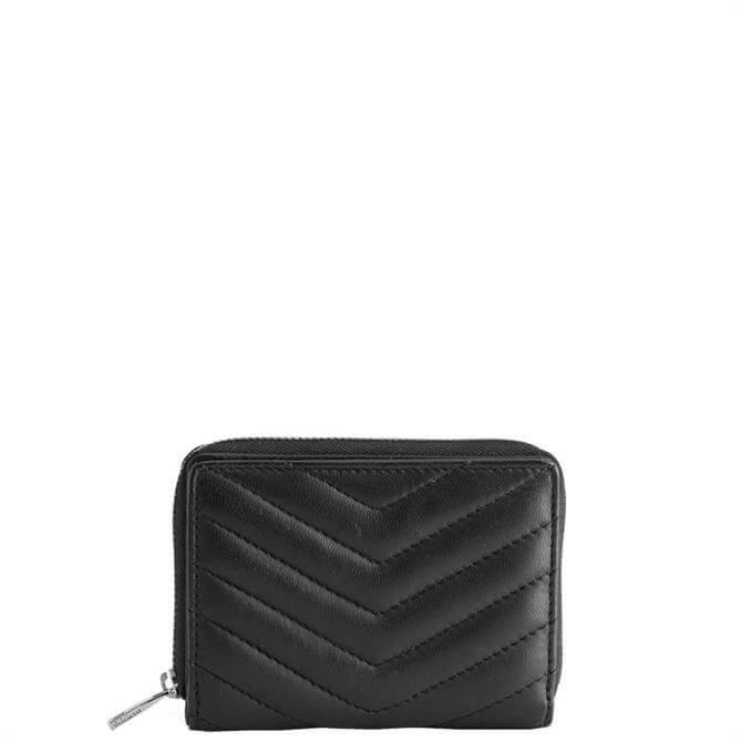 Markberg Kaia Puffer Black Wallet