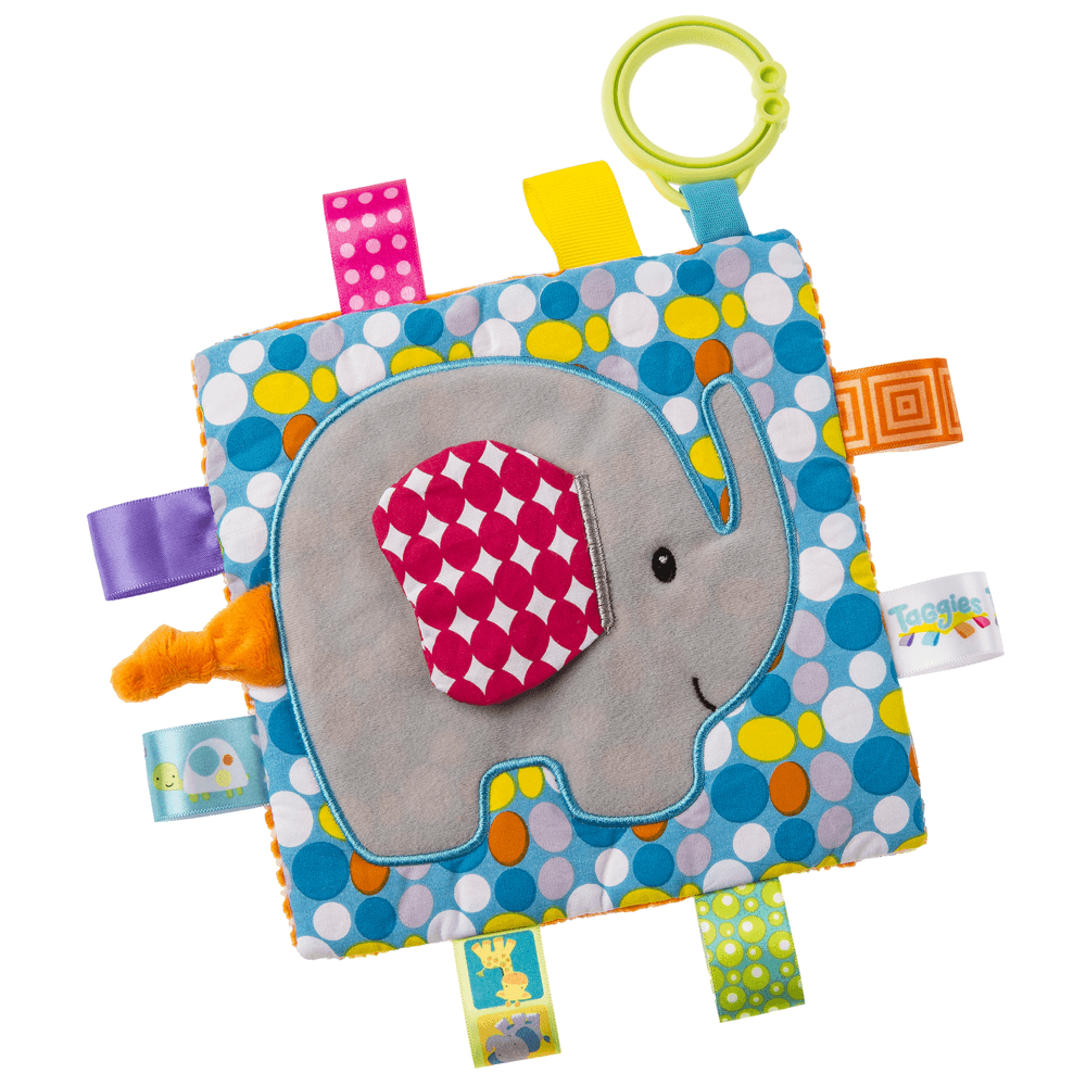 An image of Mary Meyer Taggies Crinkle Me Elephant