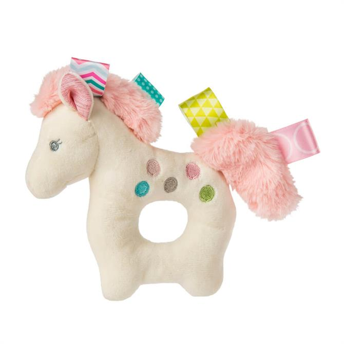 Mary Meyer Taggies Painted Pony Rattle