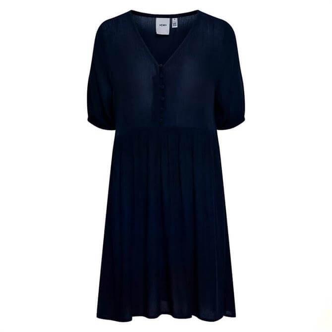 Ichi Ihmarrakech Buttoned Dress