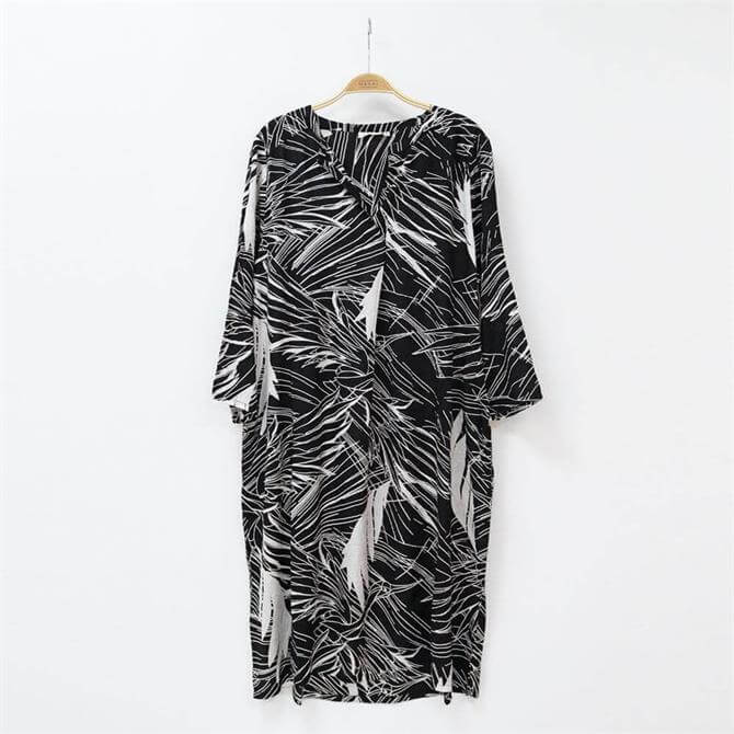 Masai Natalia Leaf Print Dress