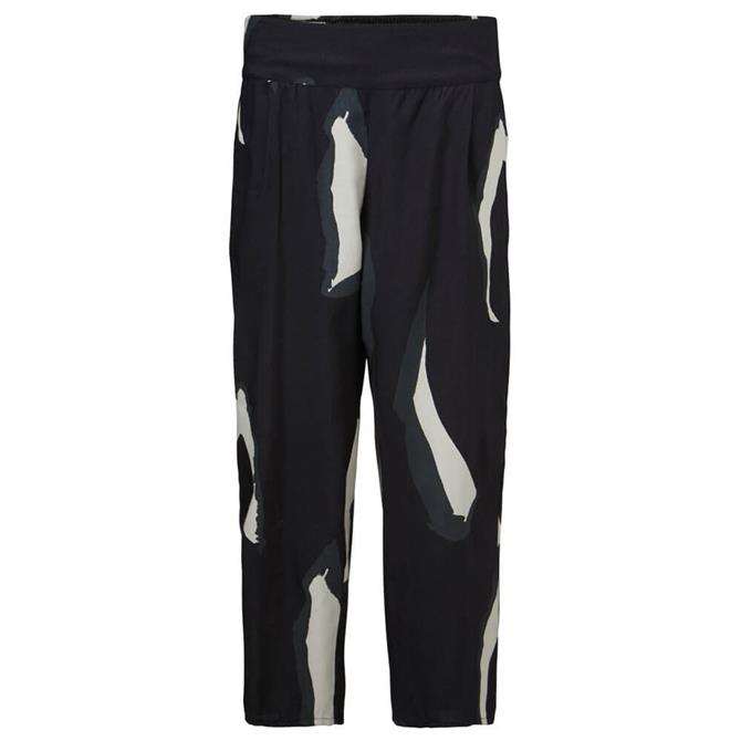 Masai Abstract Print Relaxed Trouser