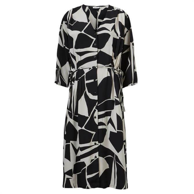 Masai Abstract Print Shirt Dress