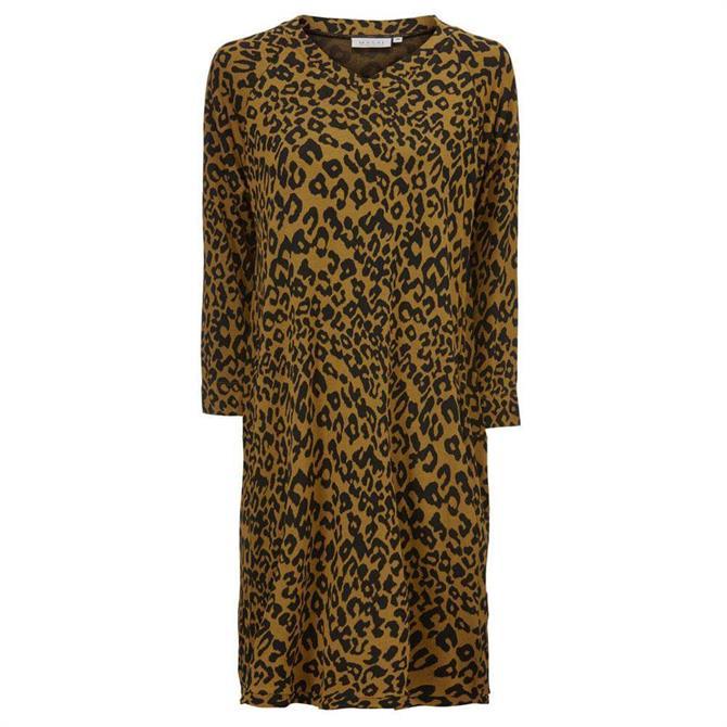 Masai Galitta Animal Print Tunic Dress