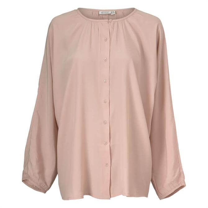Masai Iria Relaxed Buttoned Blouse
